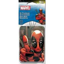 Plasticolor 005521R01 Marvel Deadpool Air Freshener - 2 Pack