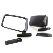 Black Door Mirror Fit 70-90 Nissan Datsun 620 720 Toyota Celica RA40 KE 20 25 26
