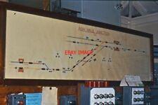 PHOTO  ASH VALE  SIGNAL BOX  TRACK DIAGRAM