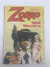 ZORRO #3 - 1980s 80s - Foreign Comic Book - VERY RARE - 6.0 FN