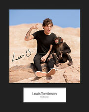 LOUIS TOMLINSON (ONE DIRECTION) #4 10x8 SIGNED Mounted Photo Print - FREE DEL