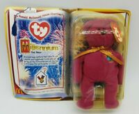 Details about  /Ty Beanie McDonald/'s Happy Meal Toy Millennium the Bear 1999 NIP