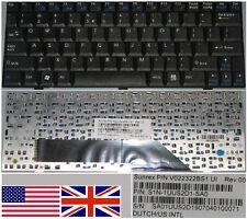 Clavier Qwerty US Int MSI Wind U100 U110 U120 SN10E1 V022322BS1 S1N-1UUS2D1-SA0