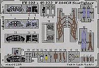 Eduard 1/48 F-104C/J Starfighter etch for Hasegawa # FE222