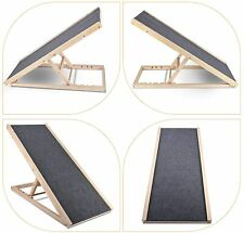 "Pet Ramp for Bed/Couch- 4 Adjustable Heights- Size 40"" -Hold Up To 110lb"