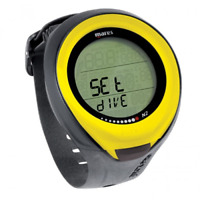 Mares Dive Computer for Scuba Wrist Watch Nitrox Diving  Puck Pro Yellow 4UK