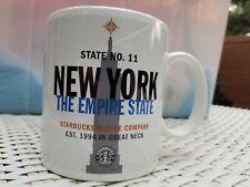 Vintage 1999 Starbucks NEW YORK THE EMPIRE STATE No. 11 Ceramic Mug