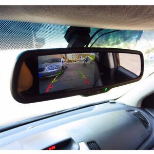 "4.3"" Windscreen Monitor Rearview Mirror Mount For Toyota Buick Kia Hyundai Ford"