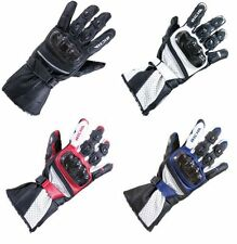 Richa Knuckles Motorcycle Cowhide Leather Exact Gloves