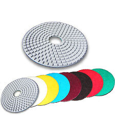 "4"" Dry Wet Diamond Polishing Pads Granite 10 FULL SETS AWESOME!"