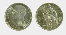 052) Regno Vittorio Emanuele III (1900-1943) 5 Lire 1936 Fecondità
