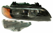 New! BMW (E39) HALOGEN HEADLAMP (RIGHT) some 528i 540i (1998-00) TYC 63128385092