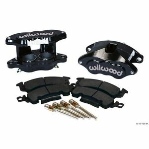 Wilwood 140-11291-BK D52 Front Brake Caliper & Pad Kit