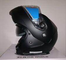 Hjc Cl-Max3 Snowmobile Helmet Matte Black Xl Extra Large Modular Sunscreen