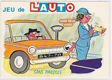 CP HUMOUR JEU DE L'AUTO sans paroles