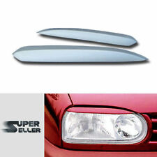 PAINTED VOLKSWAGEN GOLF MK3 HEADLIGHT LAMP COVER TRIM EYEBROWS EYELIDS 91-99