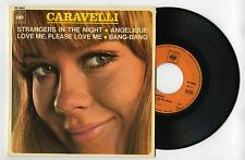 45 RPM EP CARAVELLI STRANGERS IN THE NIGHT