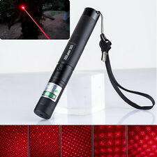 5 Miles Red Laser Pointer 303 1mw 650nm Pen Light Lazer Visible Beam Zoomable#