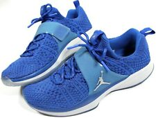 JORDAN Trainer 2 Flyknit training Shoes- 12- NEW- Nike Blue sport sneakers-