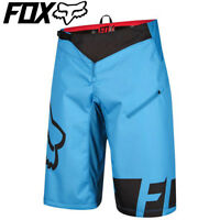 Fox Demo DH MTB Cycling Shorts 2016 - Cyan Blue - 30, 32, 34