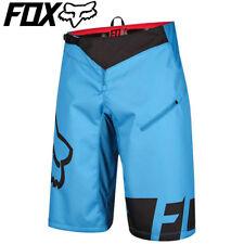 Fox Demo DH MTB Cycling Shorts 2016 - Cyan Blue - 30, 32, 34