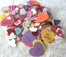 Hearts With Words Foam Shapes Crafts Scrapbooking Classroom Daycare Stickers