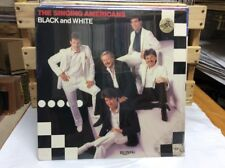 The Singing Americans Black And White Vinyl Record Michael English (New/Sealed)