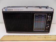 SANYO WEATHER-MATIC AM/FM RADIO RP7410