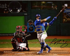 Javier Baez Chicago Cubs 2016 MLB WS Champs Signed 8 x 10 World Series Photo rep