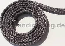 Ofendichtung Qualität Ofenschnur Kamin Dichtschnur 20x7mm geflochten f. Hark u.a