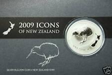 1 Dollar KIWI 2009 in Blister 1 OZ Silber