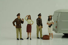 Remembering Pearl Harbor Set 4 Figurines Figur 1:18 Figures American Diorama