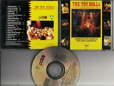 THE TOY DOLLS Twenty Tunes Live From Tokyo 1990 CD RECEIVER RECORDS PUNK