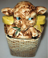 Vintage Mccoy Lamb Cookie Jar