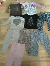 Lot Of 9 Assorted Toddler Girl 2T Clothes