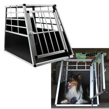 Hundetransportbox Größe L Auto Gitterbox Reisebox Hunde Alu Hundebox Kofferraum