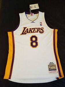 Kobe Bryant Authentic Mitchell & Ness White Jersey #8 Size 44 (Large)
