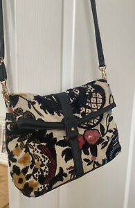 Topshop tapestry embroided vintage style bag