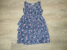 **AGE 9 LOVELY TIERED LONG TOP FROM TAMMY, BHS, FLOWER PRINT (6)**