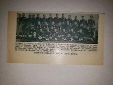 Trinity College Sioux City Iowa  1923 Football Team Picture RARE!