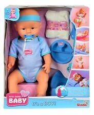 Simba 105030044 - New Born Baby Junge Puppen-Junge 43 cm NEU + originalverpackt