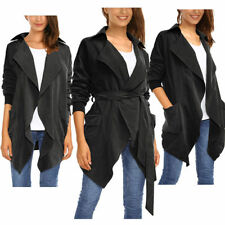 Polyester Winter Regular Solid Coats & Jackets for Women