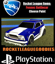 Rocket League Items - Battlecars - Painted Fennec  - PS4 - PS5 - Playstation