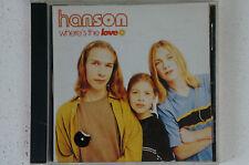 Hanson where's the Love MAXI SINGLE 4 titolo where's the Love Look At You (box29)