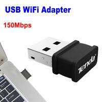 150Mbps Mini USB Wireless WiFi Dongle Adapter 802.11 B/G/N Lan Network Card