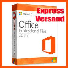 Microsoft Office 2016 Professional Plus Key MS Office Pro 32/64 Bit Vollversion