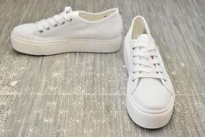 **Steve Madden Elore ELOR03S1 Comfort Sneaker - Women's Size 10M, White