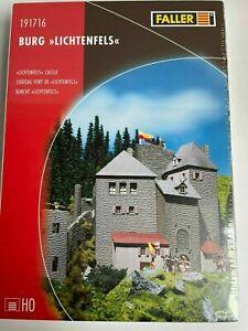 Faller HO 191716 Burg Lichtenfels  Bausatz NEU in OVP mit Folie
