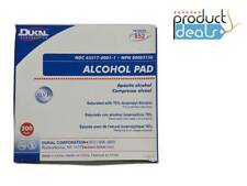 DUKAL 852 ALCOHOL PREP-PADS MEDIUM STERILE 200/Box NON STERILE