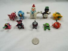 Lot of 10 Assorted Bobble Head Various Animals Turtle Camel Bunny Frog Snowman